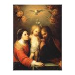 Mary, Jesus, and Joseph Canvas Print
