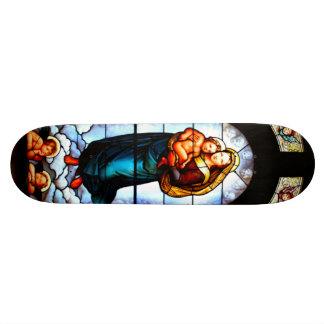 Mary & Jesus Skate Board