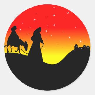 Mary & Joseph Stickers