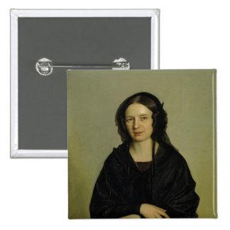 Mary Kramer , 1845 15 Cm Square Badge