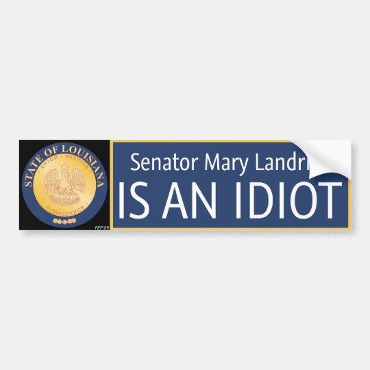 Mary Landrieu Bumper Sticker
