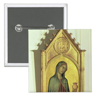 Mary Magdalen, c.1320 15 Cm Square Badge