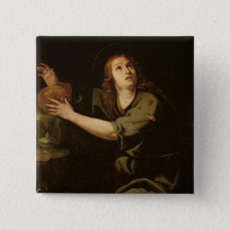 Mary Magdalene 15 Cm Square Badge