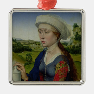 Mary Magdalene, from the right hand panel Christmas Ornament