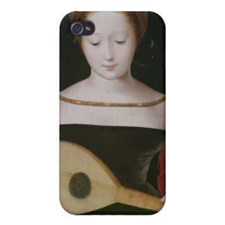 Mary Magdalene Playing a Lute Case For iPhone 4