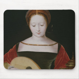Mary Magdalene Playing a Lute Mouse Pad