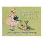 Mary Mary Quite Contrary Happy Birthday