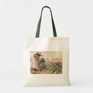 Mary, Mary, Quite Contrary Nursery Rhyme Budget Tote Bag