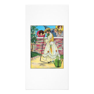Mary, Mary, quite contrary Photo Greeting Card