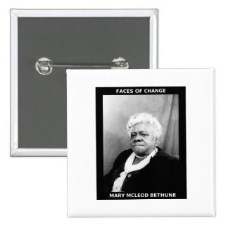 Mary McLeod Bethune Pinback Buttons