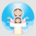 Mary Mother of God Stickers