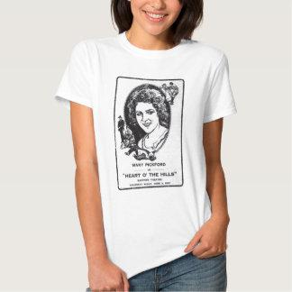 Mary Pickford 1919 vintage movie ad T-shirt