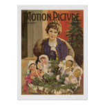 Mary Pickford Christmas Movie Magazine Cover Print
