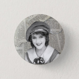 Mary Pickford Nymphet Button