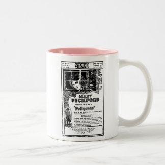 Mary Pickford POLLYANA 1920 movie advertisement Two-Tone Mug