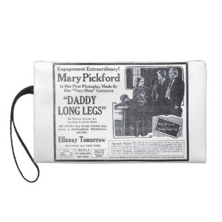 Mary PIckford vintage movie newspaper ads Wristlets