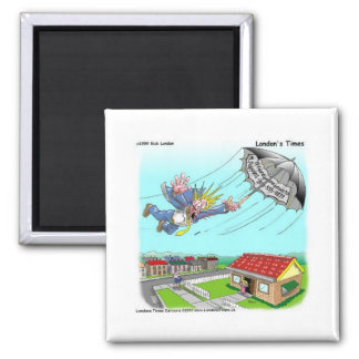 Mary Poppins Umbrella Funny Gifts Tees Etc Square Magnet