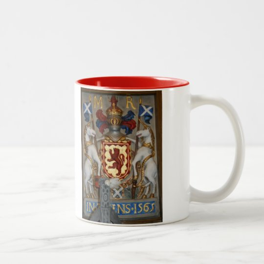 Mary Queen of Scots Coat of Arms Coffee