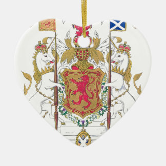 MARY QUEEN OF SCOTS COURT OF ARMS CHRISTMAS ORNAMENT
