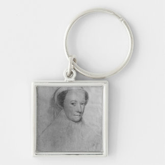 Mary, Queen of Scots  in white mourning, 1560 Key Ring