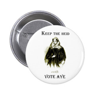 Mary Queen of Scots Scottish Independence Badge Buttons