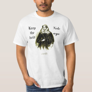 Mary Queen of Scots Scottish Independence T-Shirt
