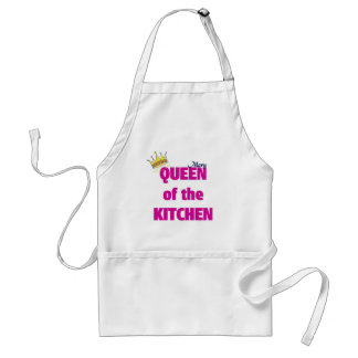 Mary queen of the kitchen standard apron