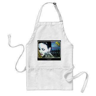 'Mary Remembers Sadly' Apron