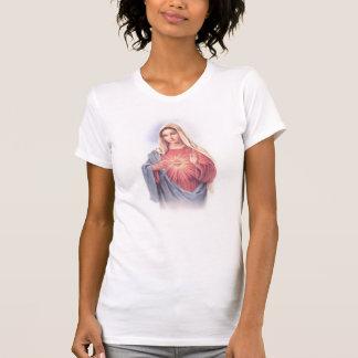 Mary Sacred Heart Boy Beater T-Shirt