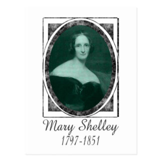 Mary Shelley Postcard