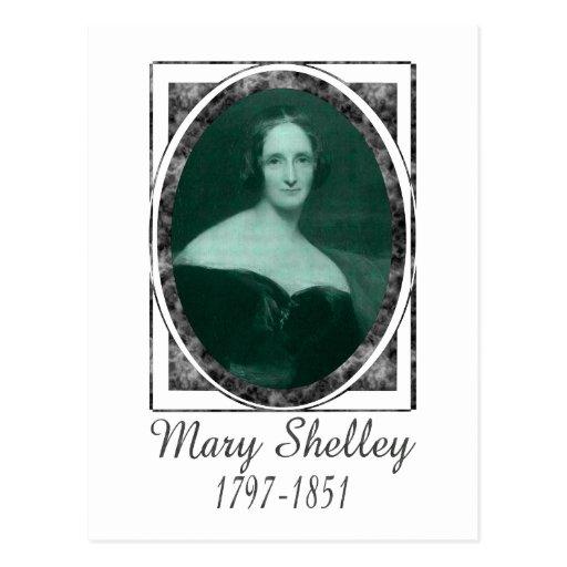 Mary Shelley Post Card