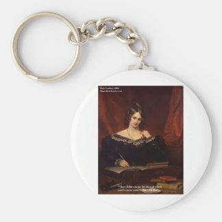 "Mary Shelly ""Love Never Seen"" Gifts & Cards Key Chain"