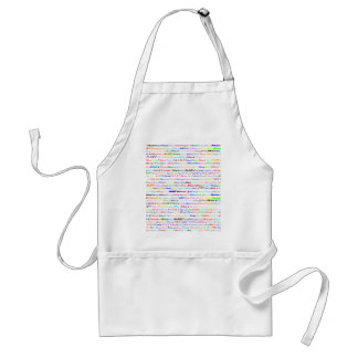 Mary Text Design II Standard Apron