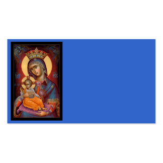 Mary - Theotokos Pack Of Standard Business Cards