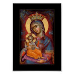 Mary - Theotokos Poster