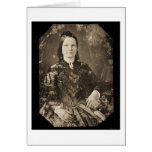 Mary Todd Lincoln Daguerreotype 1846 Greeting Card