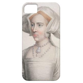 Mary Tudor (1516-58) engraved by Francesco Bartolo iPhone 5 Covers