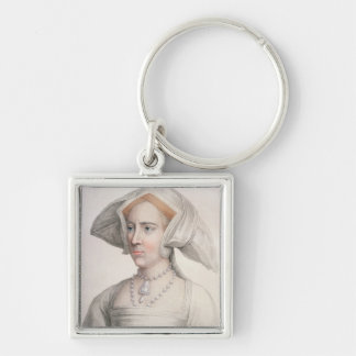 Mary Tudor (1516-58) engraved by Francesco Bartolo Keychains
