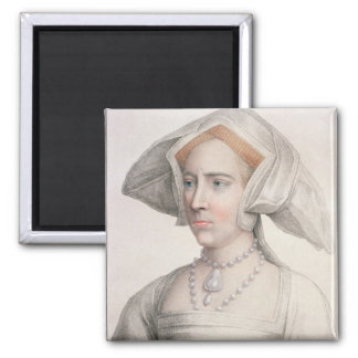 Mary Tudor (1516-58) engraved by Francesco Bartolo Magnet