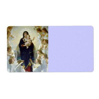 Mary with Angels - Regina Angelorum