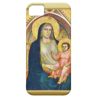 Mary with the child Jesus iPhone 5 Covers