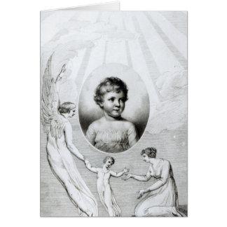 Mary Wollstonecraft Shelley  as a child Card