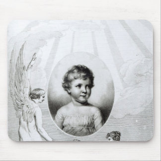 Mary Wollstonecraft Shelley  as a child Mouse Mat