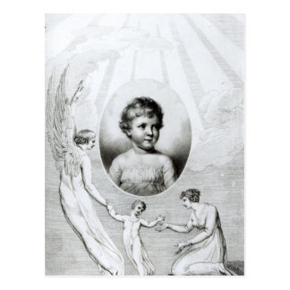 Mary Wollstonecraft Shelley  as a child Postcard
