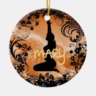 Mary Xmas Ornament