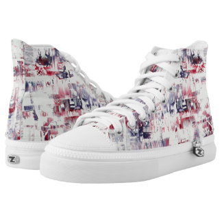Mary  Zipz High Top Shoes