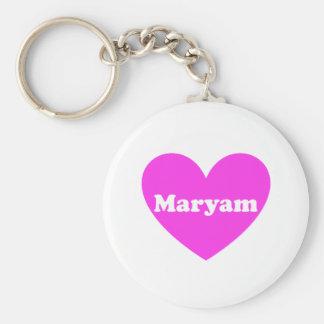 Maryam Basic Round Button Key Ring