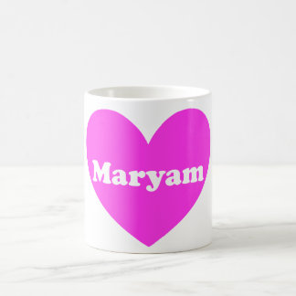 Maryam Basic White Mug