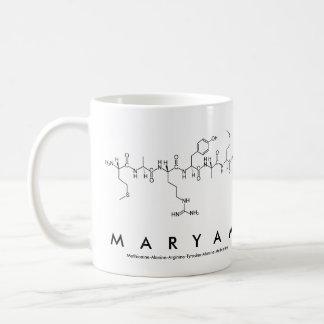 Maryam peptide name mug