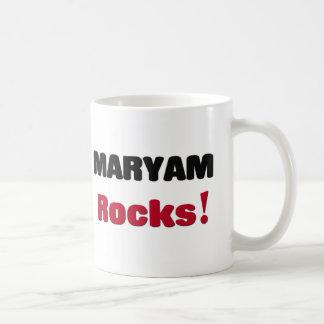 Maryam Rocks Coffee Mugs